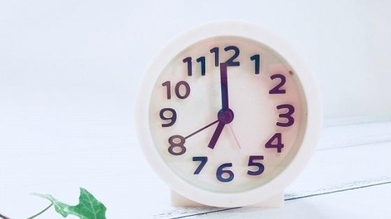 不眠と目覚まし時計